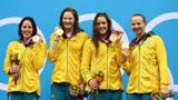 伦敦奥运第12金 女子4x100自由泳澳大利亚
