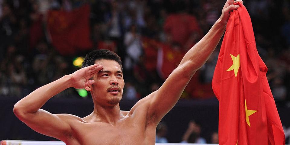 羽毛球男单林丹成卫冕第1人
