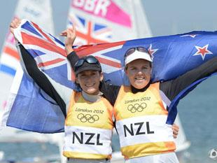 470级女双人艇新西兰夺冠