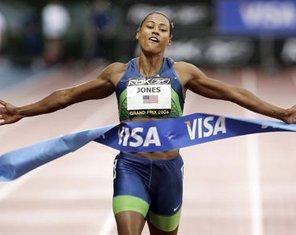 奥运百人百天马里昂琼斯