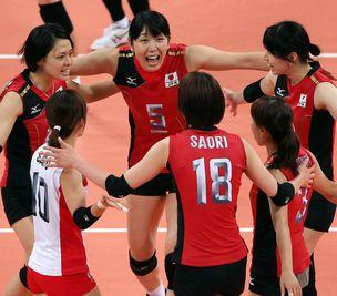 日本女排3-0胜韩国摘铜