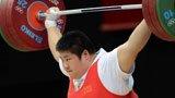 伦敦奥运第150金 女举75kg以上级 周璐璐