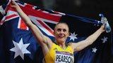 伦敦奥运第199金 女子100米栏 皮尔逊