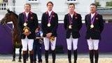 伦敦奥运第169块金牌 奥运马术场地障碍团体赛 英国队