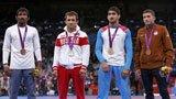 伦敦奥运第266、269、275金 摔跤 阿塞拜疆 乌兹别克斯坦