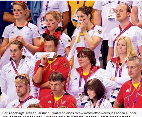 德国代表团游泳教练被控性侵未成年少女(图)