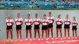 伦敦奥运第56金 皮划艇男子八人单桨 德国队
