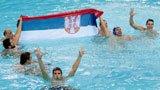 伦敦奥运第301金 男子水球 克罗地亚队