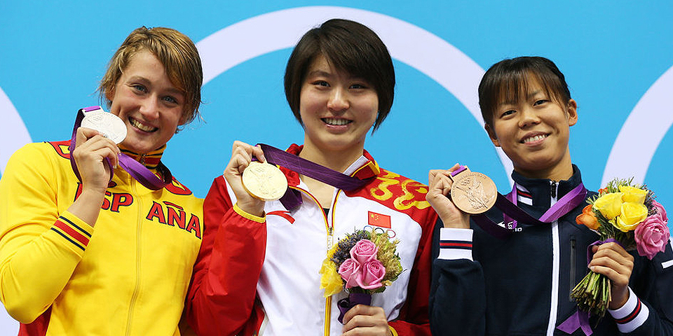 焦刘洋夺女子蝶泳200米冠军
