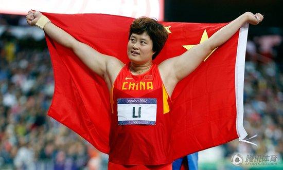 女子铁饼李艳凤摘得铜牌 夺中国铁饼首枚奖牌