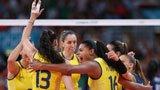 伦敦奥运第271金 女子排球 巴西队