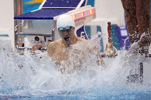 男1500自-孙杨打破世界纪录 摘个人奥运第2金