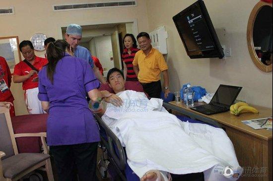 刘翔手术后反应良好 康复期有望缩短至五个月