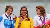 伦敦奥运第182金 女子帆板x级 内拉