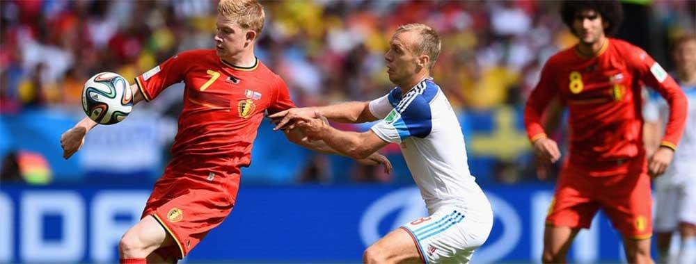 比利时1-0俄罗斯提前小组出线