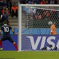 法国队本泽马点球破门打破僵局