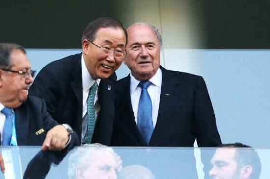 腾讯专访联合国秘书长:看韩国比赛会心跳加速