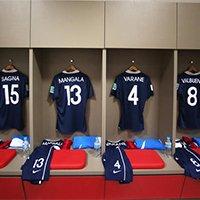 法国队更衣室局部一览