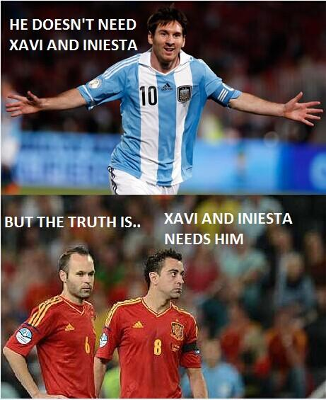 世界杯午报-我们为啥爱梅西 巴萨阿根廷抱大腿