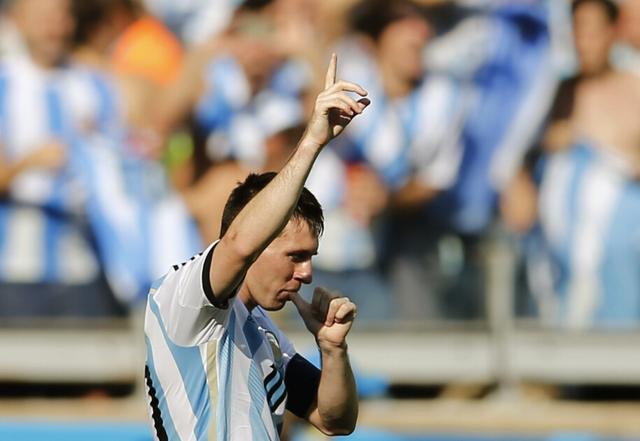 梅西避谈阿根廷将帅矛盾 称进球时什么都没想