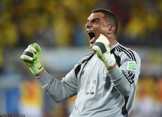 43岁零3天!世界杯第一人 哥伦比亚老兵谱新传