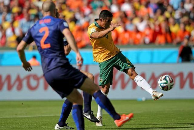 进球精彩战术成熟队员积极 澳大利亚虽败犹荣