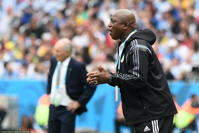 尼日利亚主帅:对输球遗憾 球队一直在进步