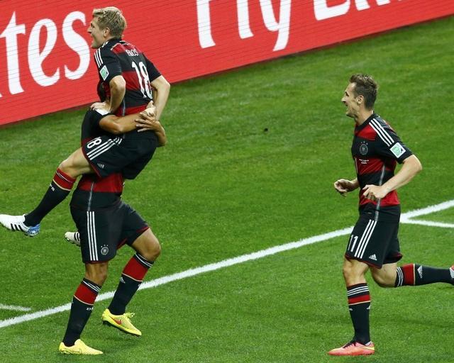 德国8入决赛史上第1 超越巴西无愧世界杯之王