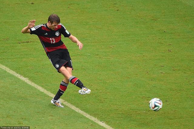穆勒:能进球很高兴 德国踢的更具进攻性
