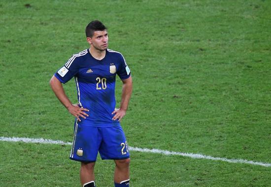 阿根廷最弱一环曝光 阿圭罗两届世界杯0进球