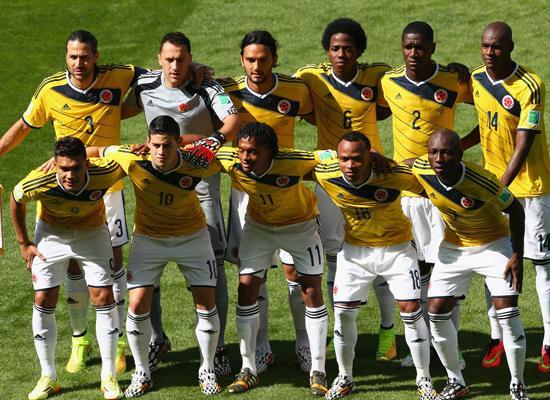 没有法尔考也一样 哥伦比亚首发11人个个牛叉