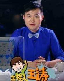 央视知名体育主持人-王涛