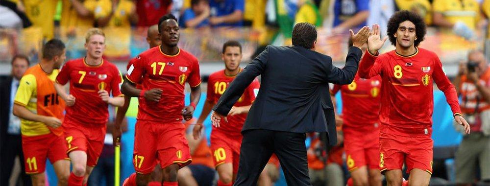 比利时2-1阿尔及利亚悍将破门