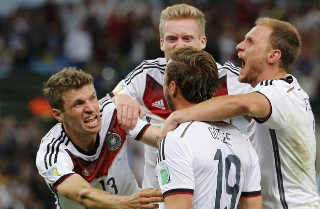 2014世界杯纪录球队篇:德国火力猛 巴西尴尬