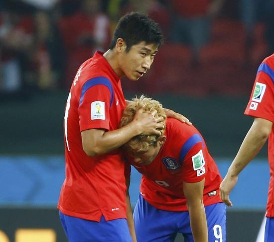 韩国主帅洪明甫:上半场遗憾 全力争胜比利时