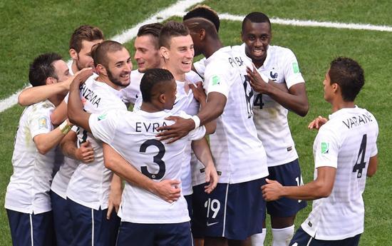 80年定律护体法国晋级 N吉兆预示必进决赛?