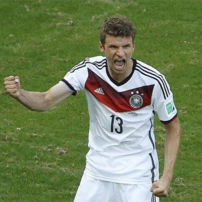 德国4-0大胜葡萄牙-穆勒上演帽子戏法