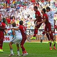 德国队胡梅尔斯头球轰炸得分