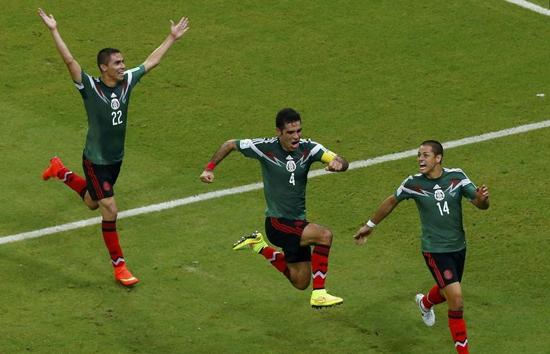 墨西哥连续六届闯入16强 28年后末轮再尝胜绩