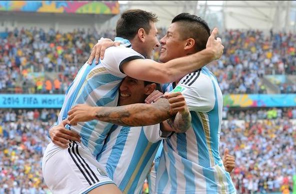 阿根廷跻身世界杯前3 129球超意大利仅逊两强