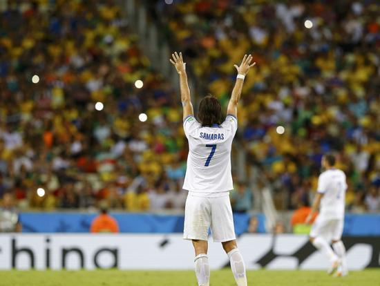 世界杯-希腊2-1绝杀首进16强 92分钟点球绝杀