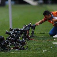 世界杯揭幕战打响 安装远程相机