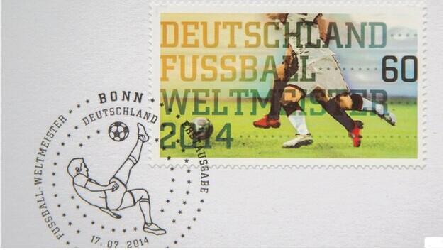 4星冠军名垂青史 德国将发行世界杯纪念邮票