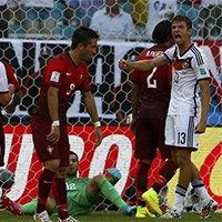 德国队穆勒梅开二度