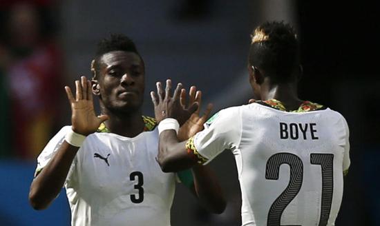 悲情!世界杯首次无缘十六强 内讧致加纳出局