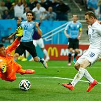 鲁尼推射空门得分打进个人三届世界杯处子球