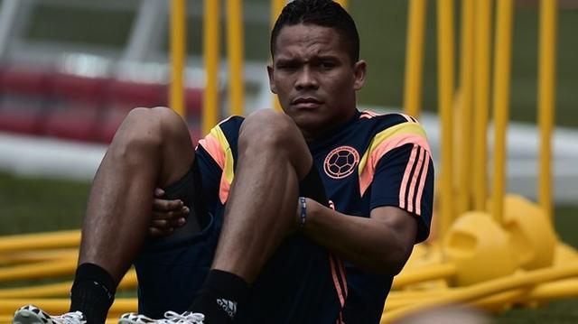 悲剧!哥伦比亚锋霸肌肉受伤 提前告别小组赛