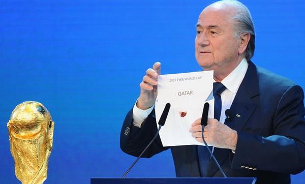 卡塔尔靠贿选赢世界杯主办权