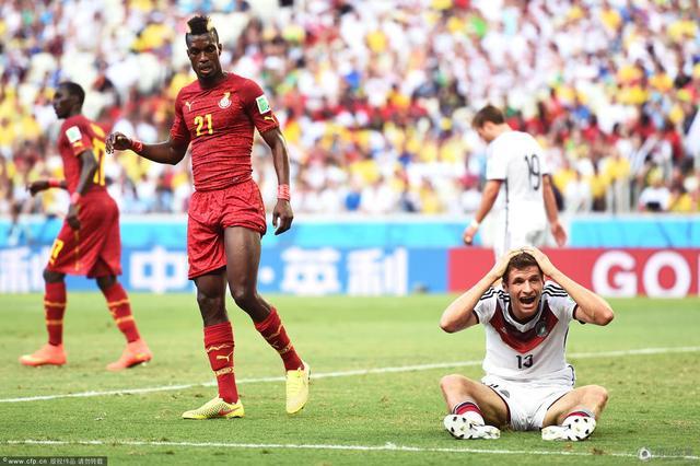 半场-德国0-0暂平加纳 穆勒格策失良机