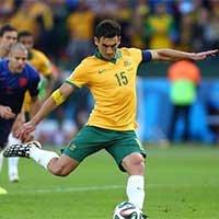 荷禁区手球-澳大利亚耶迪纳克射点球破门